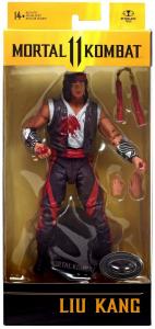 Mortal Kombat 11: LIU KANG Bloody Variant by McFarlane Toys