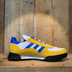 Scarpa Adidas Marathon Tr Gialla Bianca e Blu