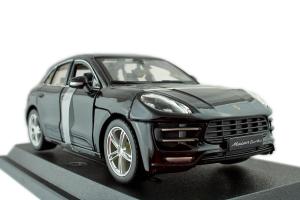 Porsche Macan Black 1/24 Burago