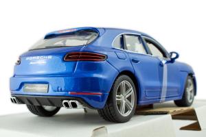 Porsche Macan Blue 1/24 Burago