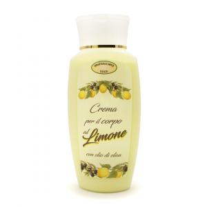 Crema per il corpo all'olio di oliva e limone ml 200