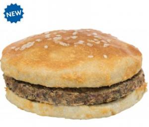 Chicken Burger con pollo e pelle di bovino 140gr TRIXIE