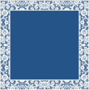 Merletto blu