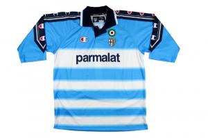 1999-00 Parma #1 Buffon Maglia Portiere  XL (Top)