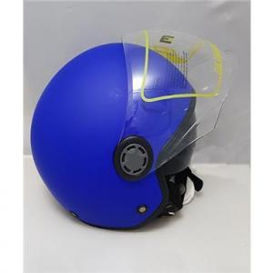 HLDJ105L CASCO ONE MATT BLUE WHITE  MISURA L