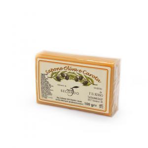 Saponetta all'olio di oliva e carota gr 100