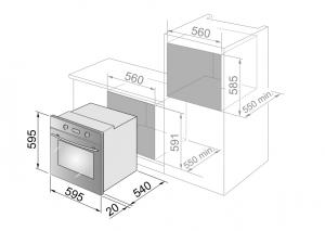 DeLonghi SLM 7N PPP ED forno Forno elettrico 59 L 2350 W A Nero