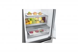 LG GBB72PZEXN frigorifero combinato Libera installazione 384 L D Acciaio inossidabile