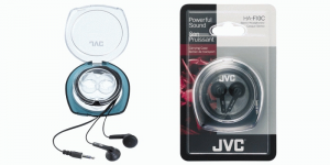 JVC Ear Bud Headphone Cuffie Auricolare Connettore 3.5 mm Nero