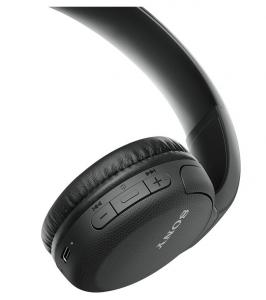 Sony WH-CH510 Cuffia Padiglione auricolare USB tipo-C Bluetooth Nero