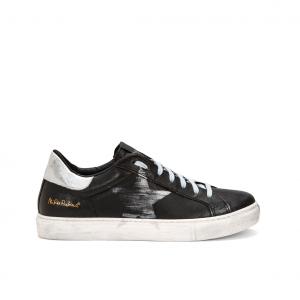 Sneaker nera effetto used NiRa Rubens