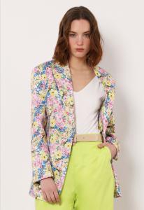 Imperial - giacca oversize fantasia floreale