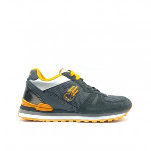 Sneaker piombo/gialla Kamsa