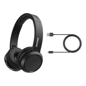 Philips 4000 series TAH4205BK/00 cuffia e auricolare Padiglione auricolare USB tipo-C Bluetooth Nero