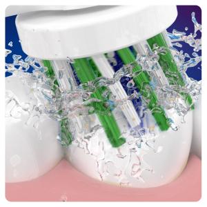 Oral-B CrossAction Testine Di Ricambio (Confezione Da 3 Pezzi), Con Tecnologia CleanMaximiser