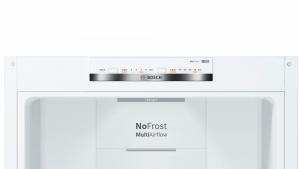 Bosch Serie 4 KGN39VWEQ frigorifero combinato 366 L Bianco