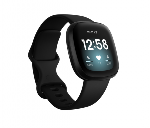 Fitbit Versa 3 40 mm AMOLED Nero GPS (satellitare)