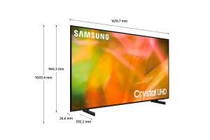 "Samsung Series 8 TV Crystal UHD 4K 75"" UE75AU8070 Smart TV Wi-Fi Black 2021"