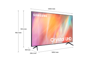 "Samsung TV Crystal UHD 4K 55"" UE55AU7170 Smart TV Wi-Fi Titan Gray 2021"
