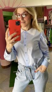 Camicia Vicolo colletto Macramè Taglia M