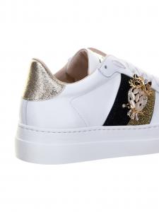 Stokton Sneakers Bianco con Gufo
