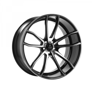 Cerchi in lega  AXE  EX33  22''  Width 9   5x114.3  ET 35  CB 74.1    Black & Polished