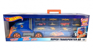 HOT WHEELS -SUPER TRANSPORTER 60 BLUE 42037 ODS srl