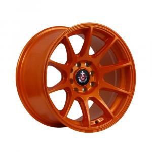 Cerchi in lega  AXE  EX8  15''  Width 8   4x100  ET 30  CB 73.1    Orange