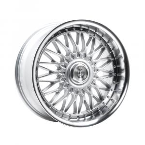 Cerchi in lega  AXE  EX10  18''  Width 9   4x98  ET 35  CB 73.1    Silver & Polished Lip