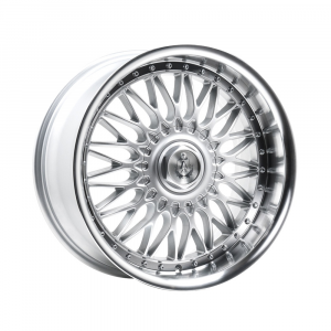 Cerchi in lega  AXE  EX10  18''  Width 9   5x112  ET 35  CB 73.1    Silver & Polished Lip