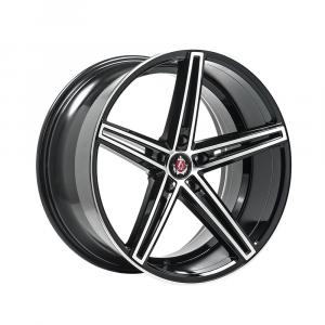 Cerchi in lega  AXE  EX14  19''  Width 8.5   5x120  ET 35  CB 72.6    Black & Polished