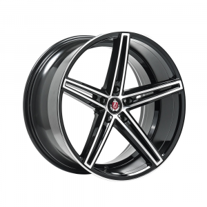 Cerchi in lega  AXE  EX14  19''  Width 9.5   5x114.3  ET 42  CB 72.6    Black & Polished