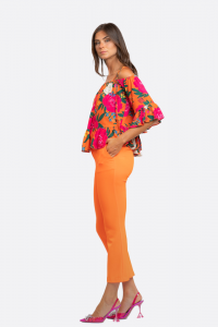 SHOPPING ON LINE NO SECERETS MILANO TOP STAMPA FIORI  NEW COLLECTION WOMEN'S SPRING SUMMER 2021