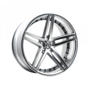 Cerchi in lega  AXE  EX20  22''  Width 10.5   5x110  ET 38  CB 74.1    Silver Polished Face & Barrel