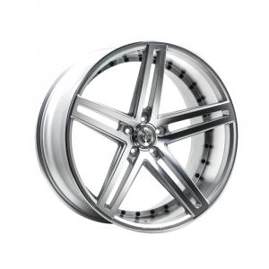Cerchi in lega  AXE  EX20  22''  Width 10.5   5x130  ET 38  CB 74.1    Silver Polished Face & Barrel