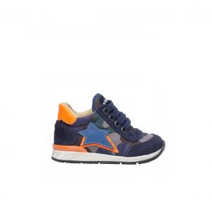 Sneaker navy/multicolor Falcotto