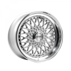 Cerchi in lega  LENSO  BSX  17''  Width 8.5   5x110  ET 35  CB 73.1    Silver & Mirror Dish