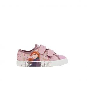 Sneaker rosa Frozen Geox