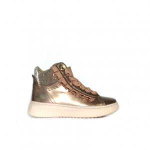 Sneaker mid rosa oro Geox