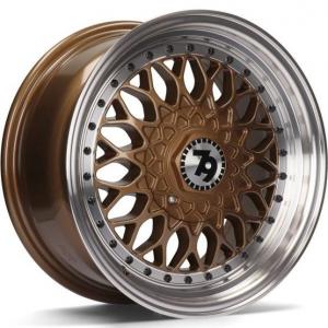 Cerchi in lega  79Wheels  SV-E  15''  Width 7   8x100/114  ET 30  CB 67,1    Bronze Polished Lip