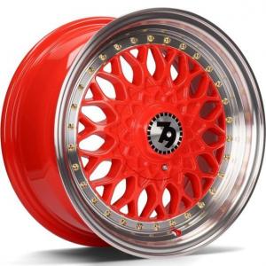 Cerchi in lega  79Wheels  SV-E  16''  Width 7   8x100/114  ET 30  CB 67,1    Red Polished Lip
