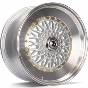 Cerchi in lega  79Wheels  SV-F  16''  Width 7   8x100/114  ET 30  CB 67,1    Silver Polished Lip