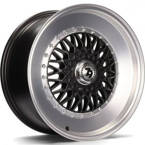 Cerchi in lega  79Wheels  SV-F  16''  Width 7   8x100/114  ET 30  CB 67,1    Matt Black Polished Lip
