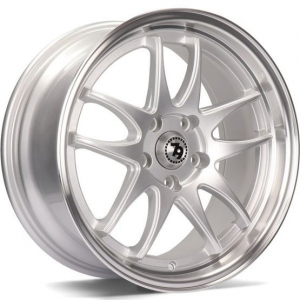 Cerchi in lega  79Wheels  SV-I  16''  Width 7   10x100/114  ET 35  CB 73,1    Silver Polished Lip