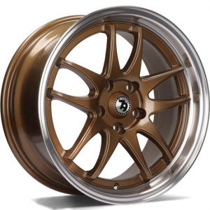Cerchi in lega  79Wheels  SV-I  17''  Width 8   5x112  ET 35  CB 66,6    Bronze Polished Lip