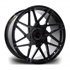 Cerchi in lega  RIVIERA  RF2  20''  Width 8,5   PCD Custom  ET disponibili da 15 a 45  CB 72.5    Gloss Black