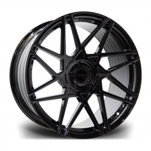 Cerchi in lega  RIVIERA  RF2  20''  Width 10   PCD Custom  ET disponibili da 15 a 45  CB 72.5    Gloss Black