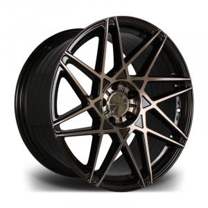 Cerchi in lega  RIVIERA  RF2  20''  Width 10   PCD Custom  ET disponibili da 15 a 45  CB 72.5    Bronze Double Dark Tint
