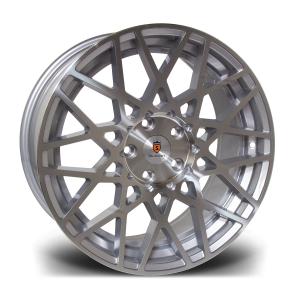 Cerchi in lega  STUTTGART  ST10  18''  Width 8,5   5X100  ET 35  CB 57.1    Silver Polished