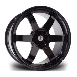 Cerchi in lega  STUTTGART  ST16-N  18''  Width 8,5   PCD Custom  ET disponibili da 15 a 45  CB 73.1    Gloss Black